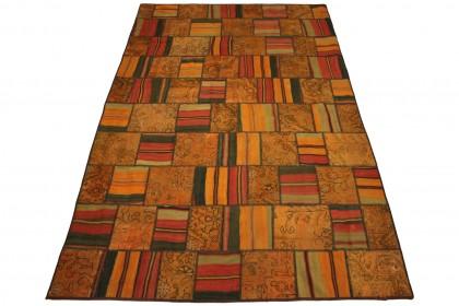 Patchwork Teppich in 310x200cm