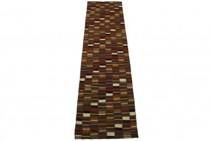 Kelim Patchwork Teppich in 300x80cm 1001-2681