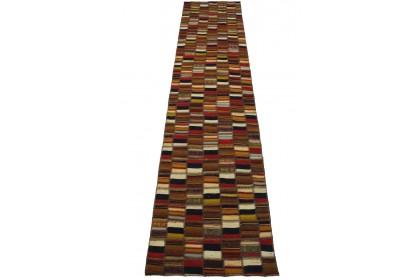 Kelim Patchwork Teppich in 290x70cm 1001-2682