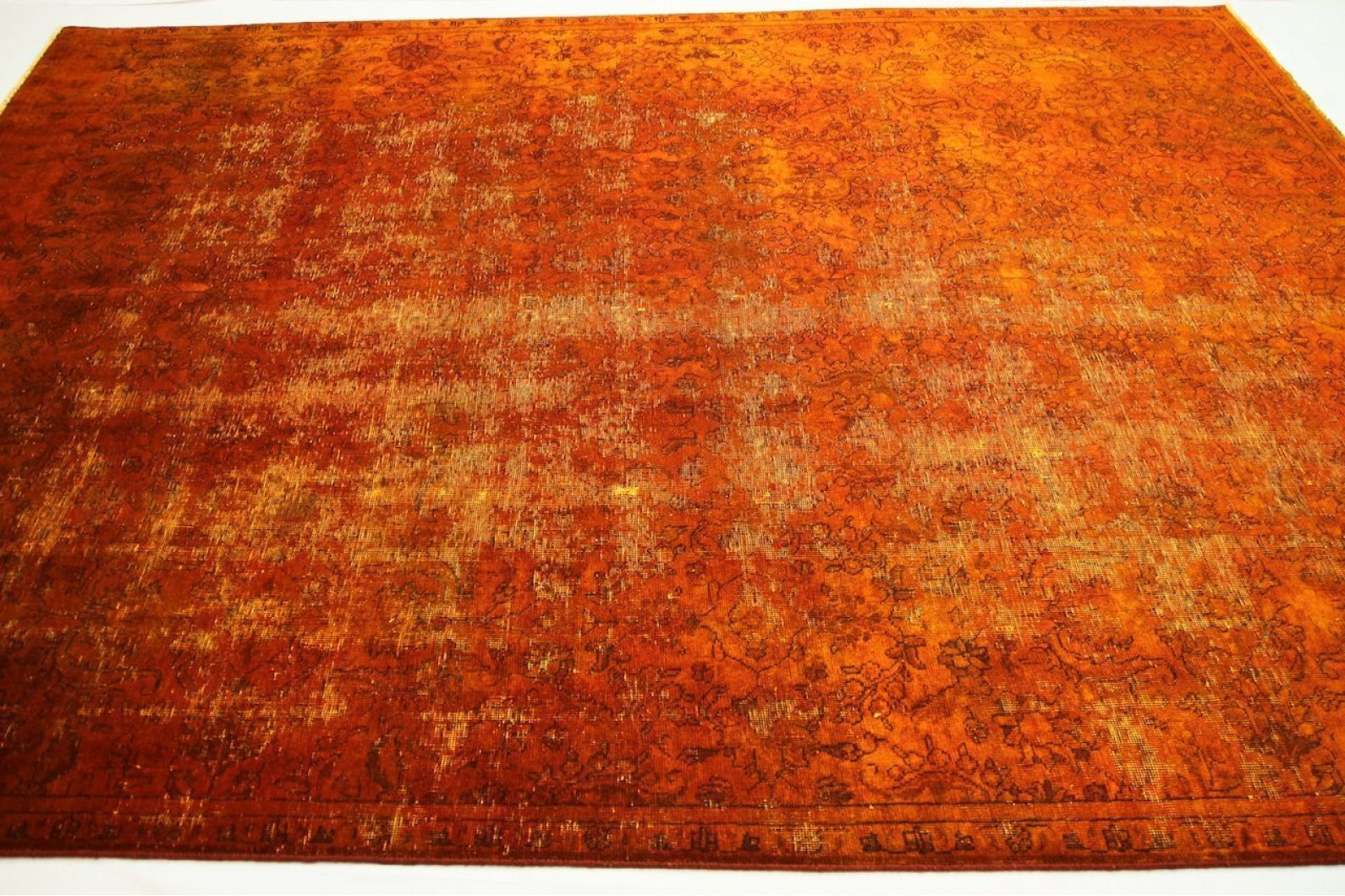 Teppich orange  Vintage Teppich Orange in 330x250cm (1001-2696) bei carpetido.de ...