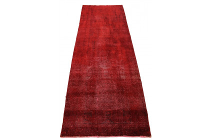 Vintage Teppich Rot in 320x110cm 1001-2707
