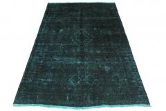 Vintage Teppich Blau Türkis in 200x120cm