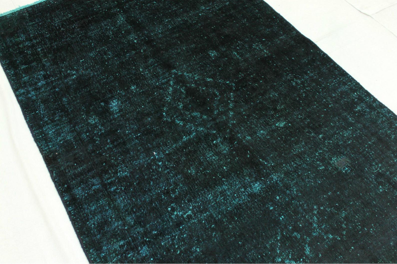 vintage teppich blau t rkis in 200x120cm 1001 2709 bei. Black Bedroom Furniture Sets. Home Design Ideas