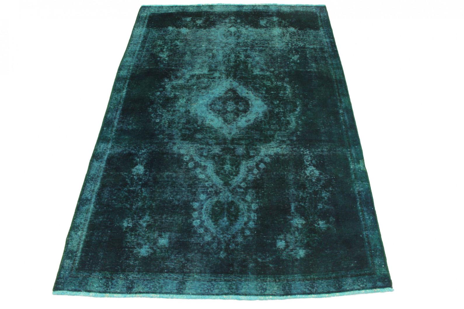 vintage teppich blau t rkis in 280x180cm 1001 2724 bei. Black Bedroom Furniture Sets. Home Design Ideas