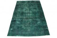 Vintage Teppich Grün Türkis in 310x200cm