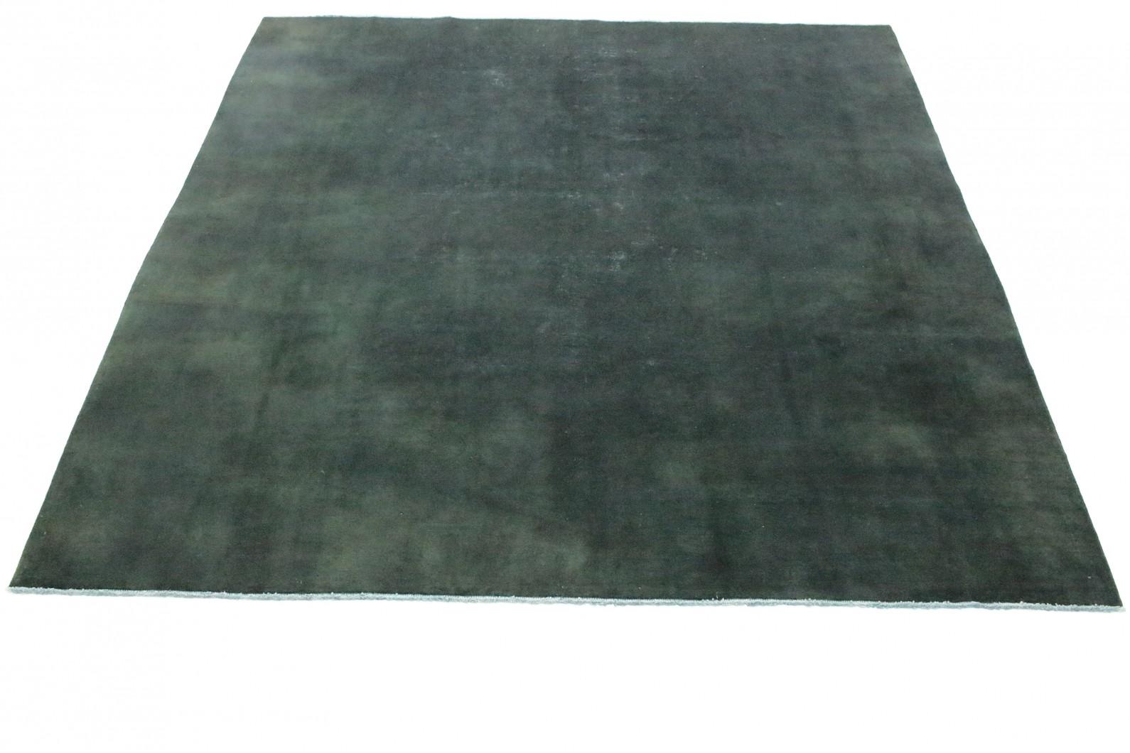 Vintage Teppich Grün Schwarz In 310x300cm
