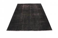 Vintage Teppich Schwarz in 348x250cm