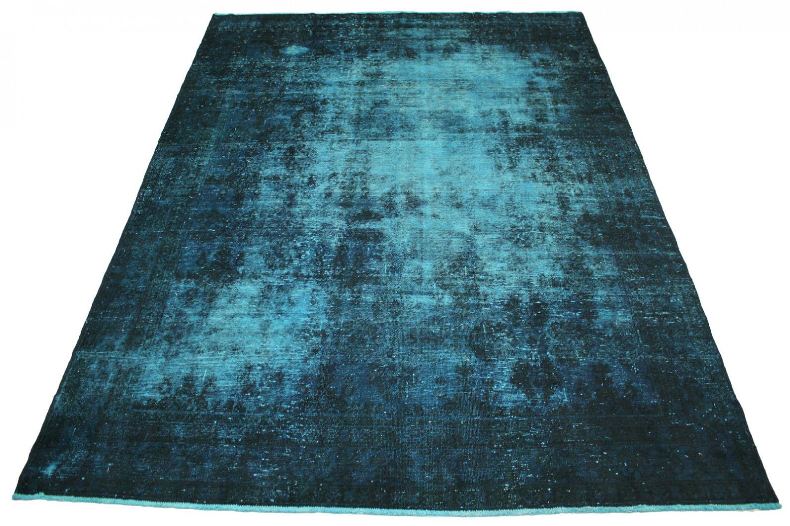 vintage teppich blau in 330x240cm 1001 2801 bei kaufen. Black Bedroom Furniture Sets. Home Design Ideas