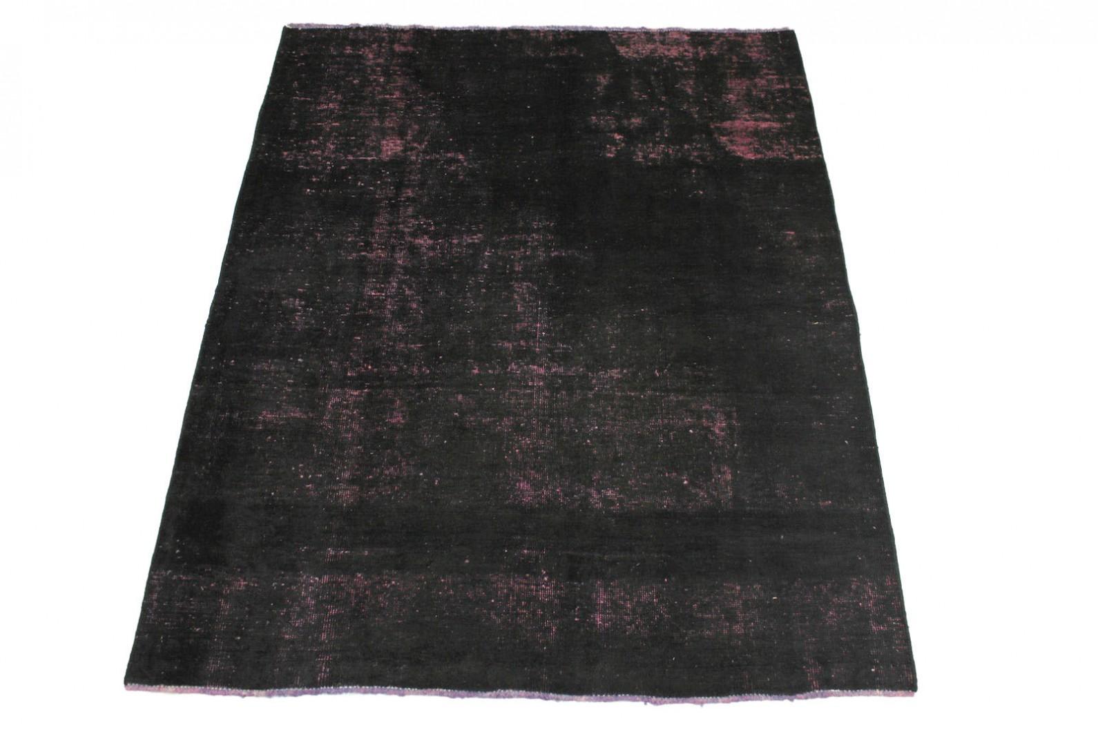 vintage teppich schwarz rosa in 190x150cm 1001 2830 bei kaufen. Black Bedroom Furniture Sets. Home Design Ideas
