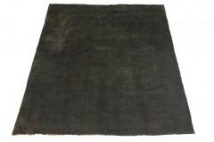 Vintage Teppich Schwarz in 190x160cm