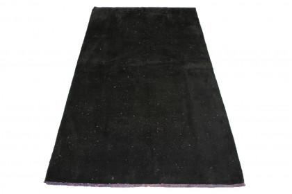 Vintage Teppich Schwarz in 190x110cm