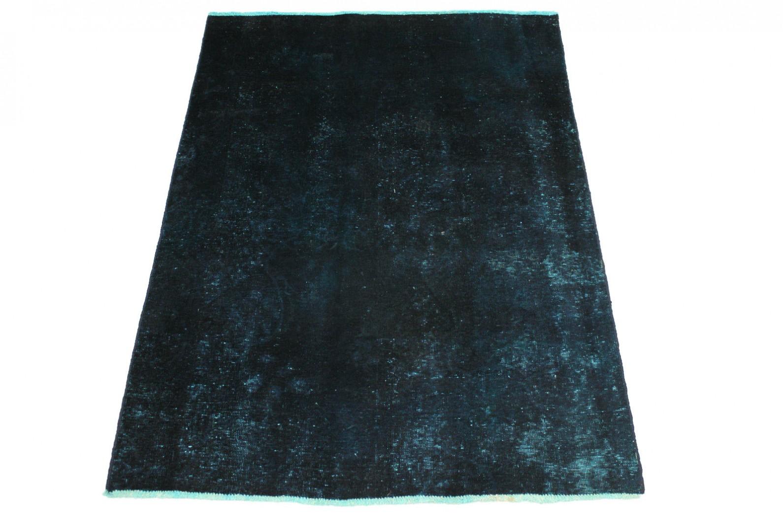 vintage teppich blau in 190x140cm 1001 2915 bei