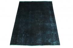 Vintage Teppich Blau in 190x140cm