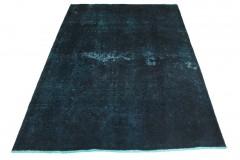 Vintage Teppich Blau in 200x150cm