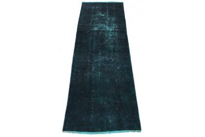Vintage Teppich Blau in 290x90cm 1001-2927