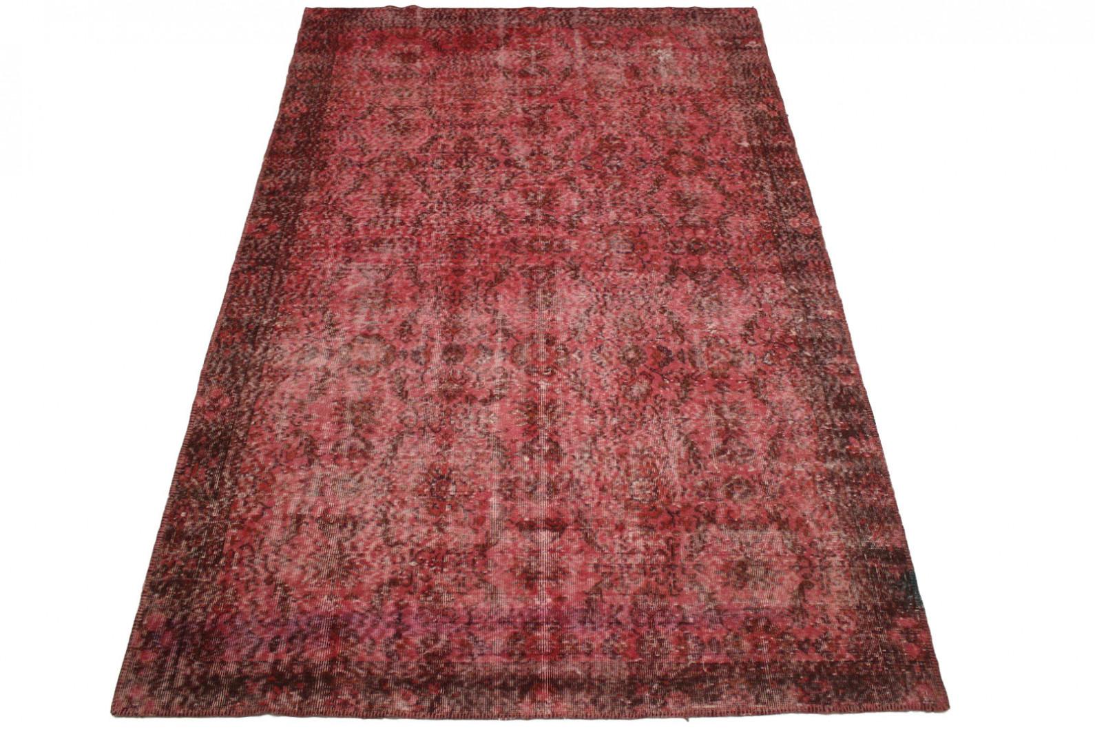 vintage teppich rot rosa in 290x180cm 1001 293208 bei. Black Bedroom Furniture Sets. Home Design Ideas