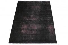 Vintage Teppich Schwarz in 200x150cm