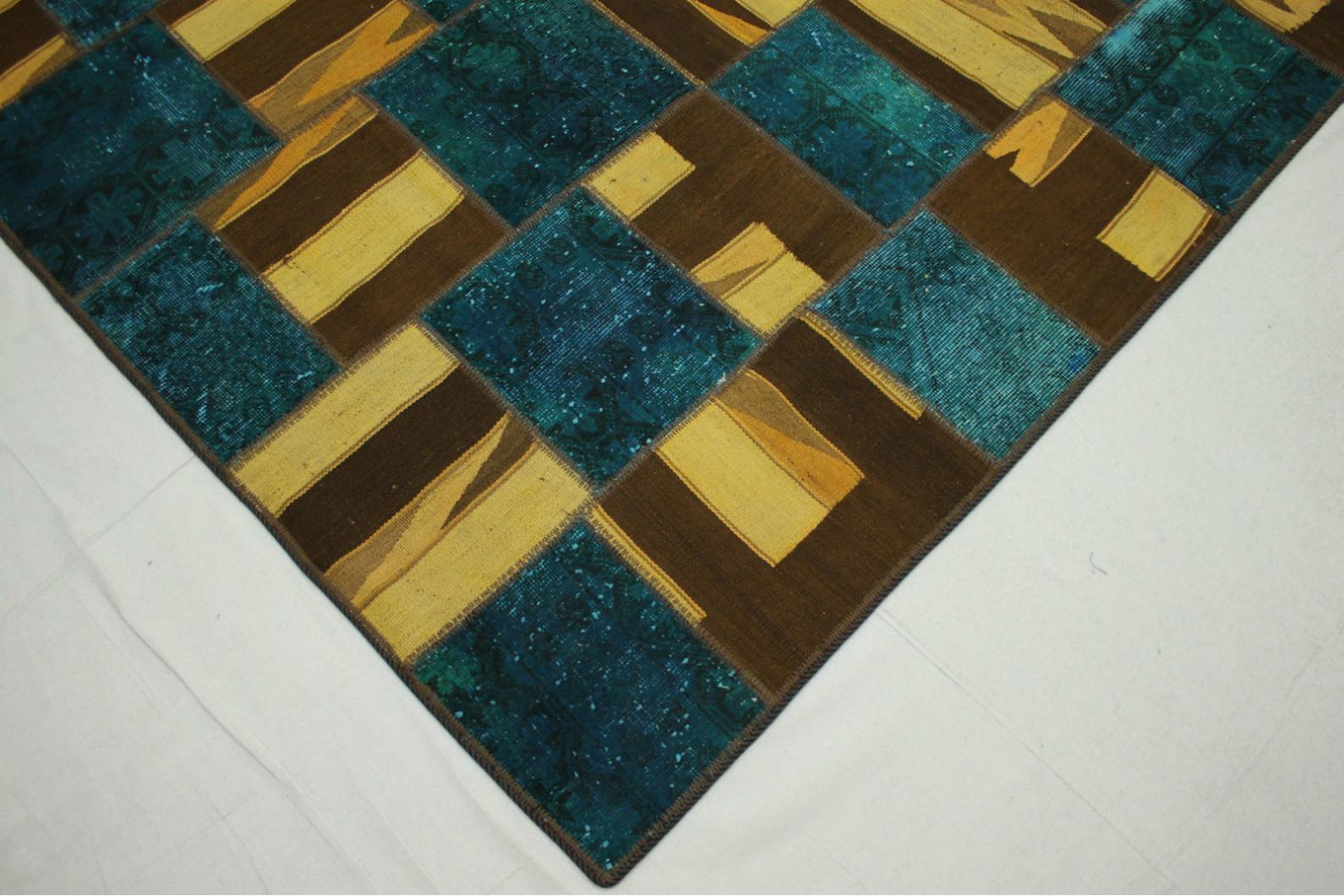 patchwork teppich in 300x200cm 1001 2968 bei carpetido. Black Bedroom Furniture Sets. Home Design Ideas