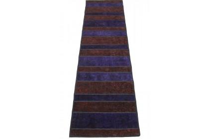 Patchwork Teppich Lila in 290x80cm 1001-2979