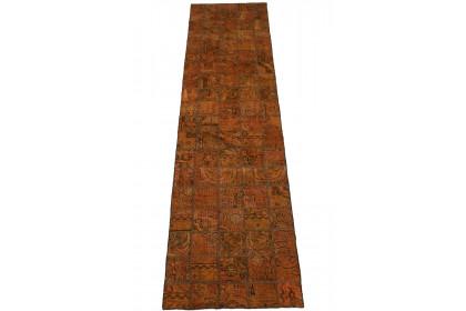 Patchwork Teppich Curry in 290x70cm 1001-2980