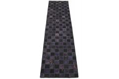 Patchwork Teppich Läufer Lila Rosa in 310x80cm