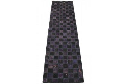 Patchwork Teppich Lila Rosa in 310x80cm 1001-2986