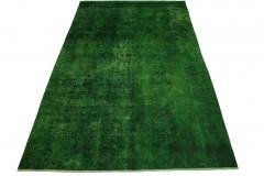 Vintage Teppich Grün in 320x210cm