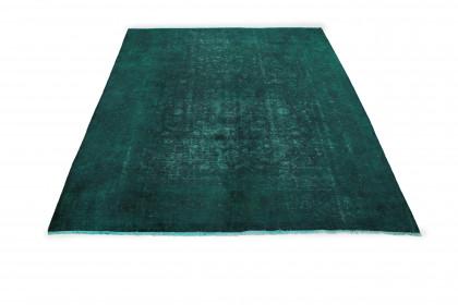 Vintage Teppich Grün in 360x260cm