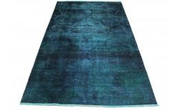 Vintage Teppich Blau in 230x140cm