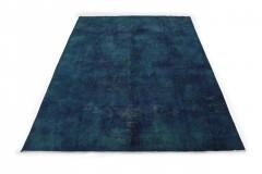 Vintage Teppich Blau Türkis in 390x280cm