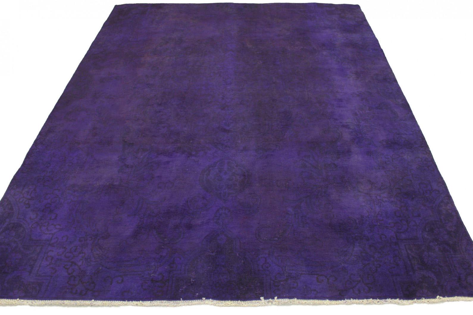 vintage teppich lila in 300x210cm 1001 3139 bei kaufen. Black Bedroom Furniture Sets. Home Design Ideas