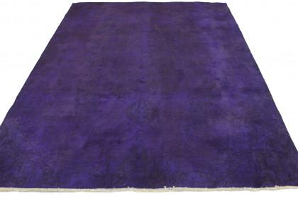 Vintage Teppich Lila in 300x210cm