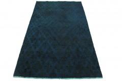 Vintage Teppich Blau in 200x120cm