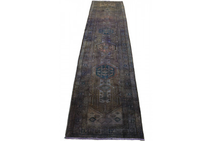 Vintage Teppich Lila in 440x100cm 1001-3153