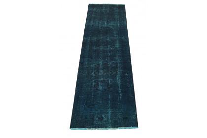 Vintage Teppich Blau in 290x90cm 1001-3157