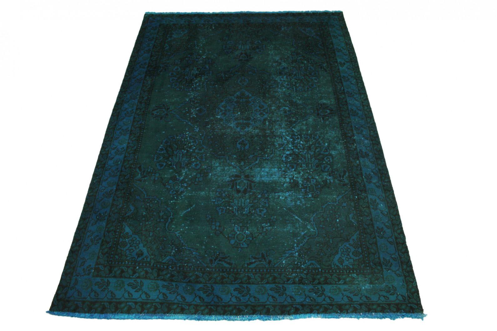 vintage teppich blau t rkis in 270x180cm 1001 3164 bei. Black Bedroom Furniture Sets. Home Design Ideas