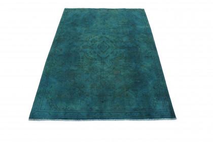 Vintage Teppich Grün in 300x200cm