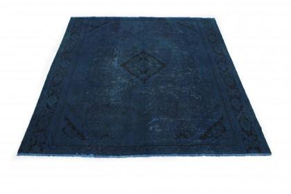 Vintage Teppich Blau in 290x280cm 1001-3189