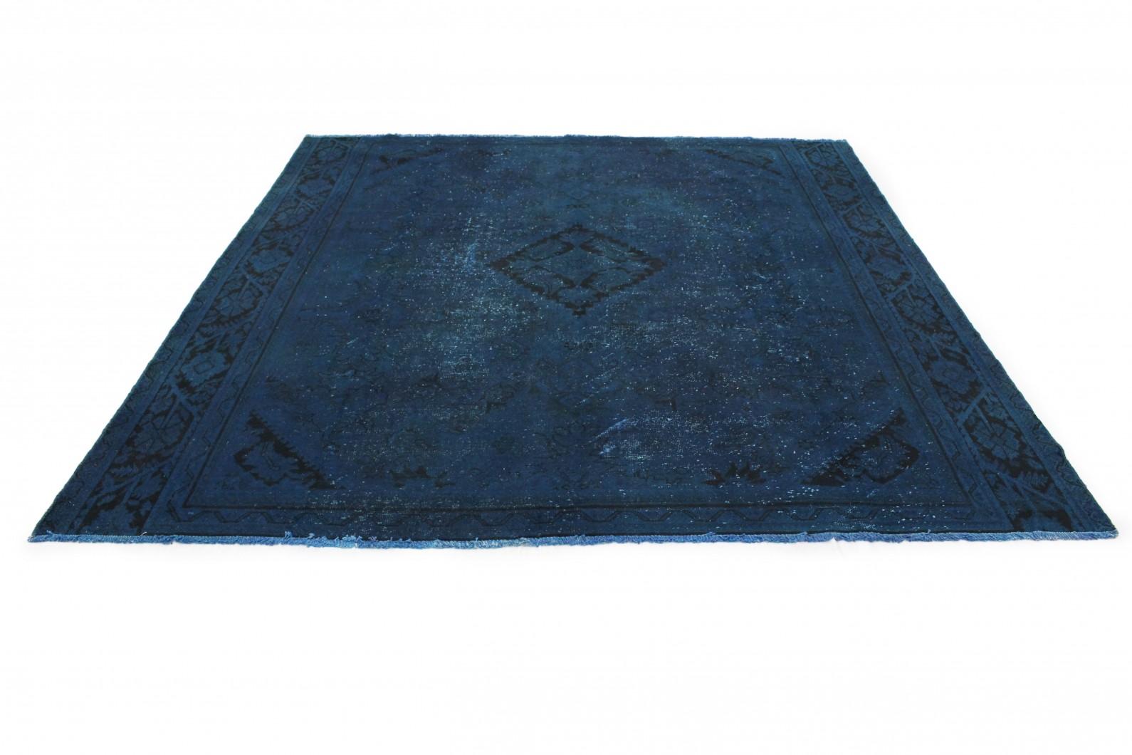 Vintage Teppich Blau In 290x280cm 1001 3189 Bei