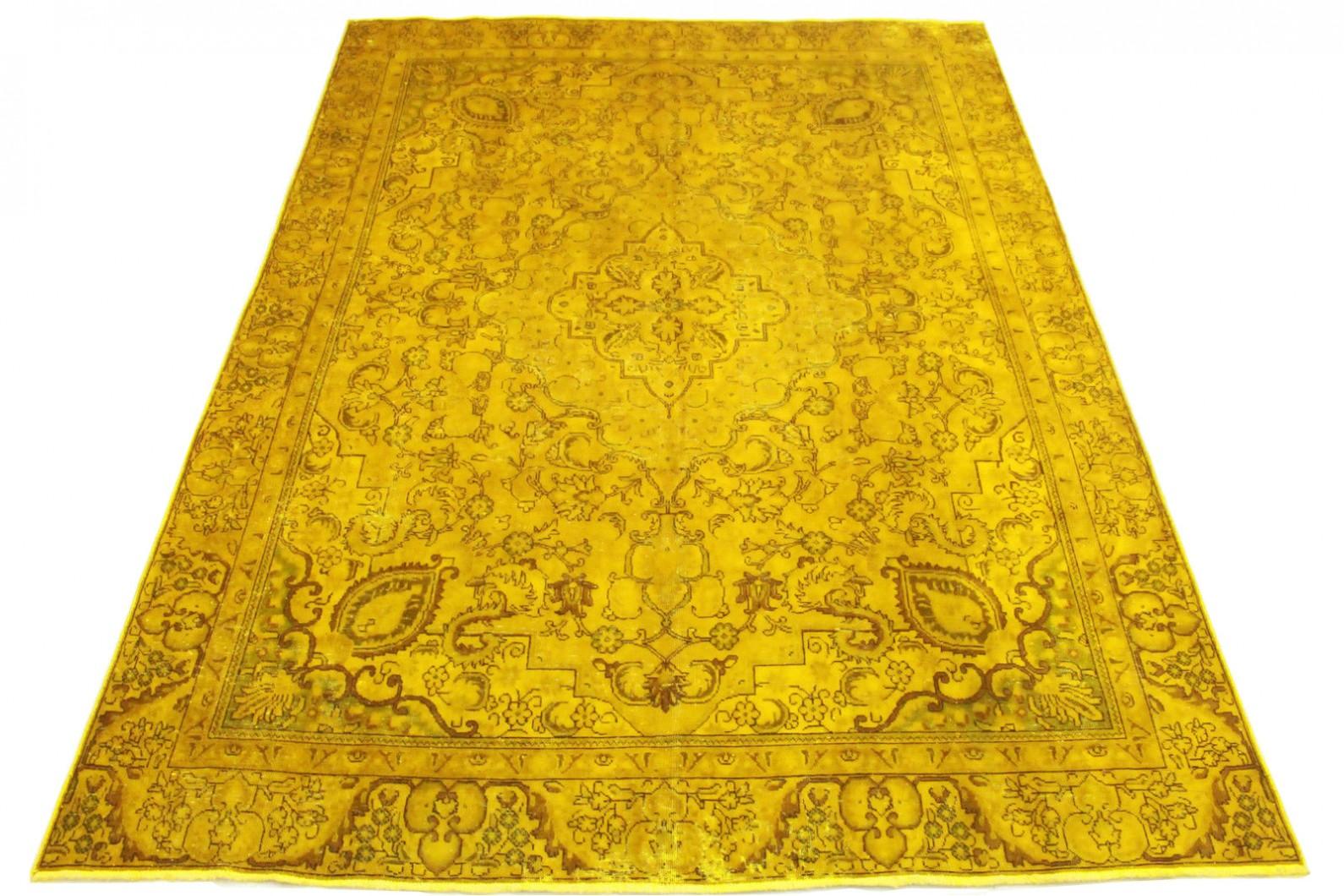 vintage teppich gold in 360x270cm 1001 3209 bei kaufen. Black Bedroom Furniture Sets. Home Design Ideas