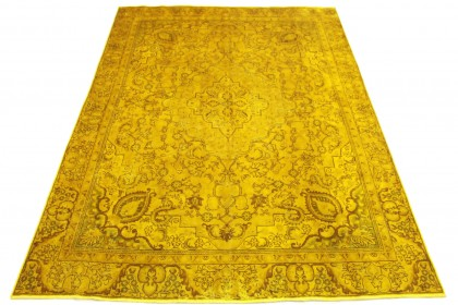 Vintage Teppich Gold in 360x270cm