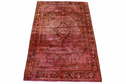 Vintage Teppich Rot in 200x130cm