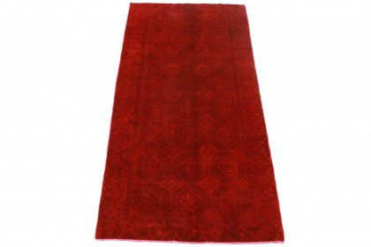 Vintage Teppich Rot in 270x130cm