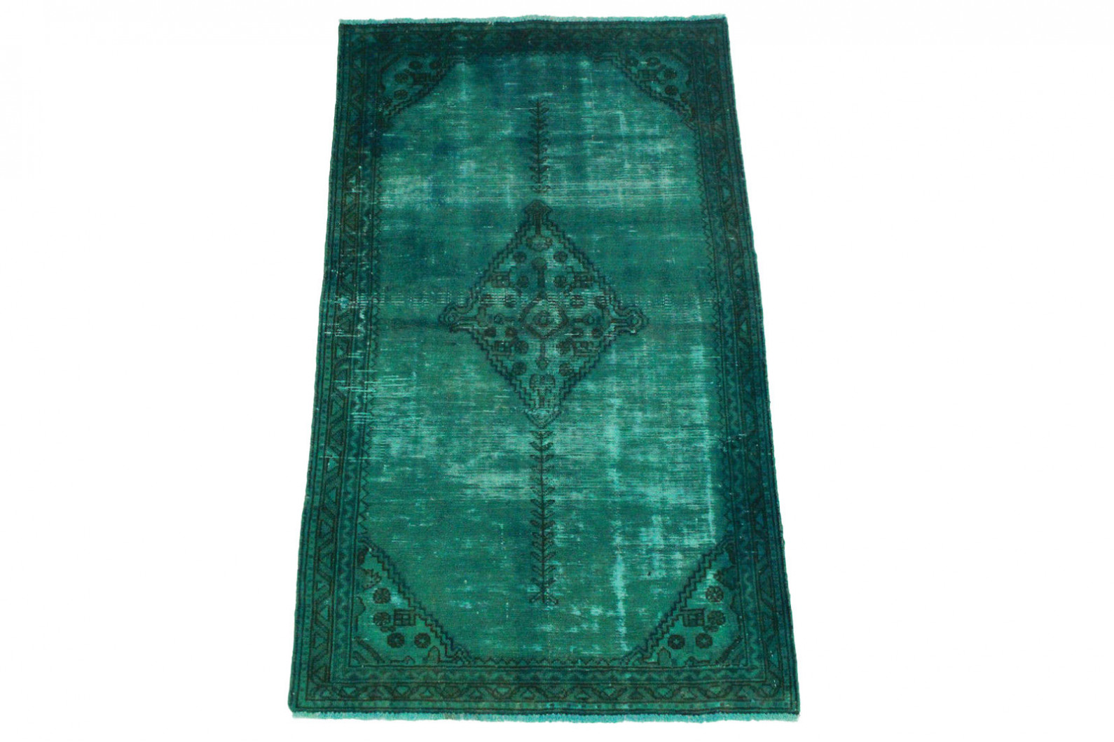 vintage teppich blau t rkis in 170x100cm 1001 3230 bei. Black Bedroom Furniture Sets. Home Design Ideas