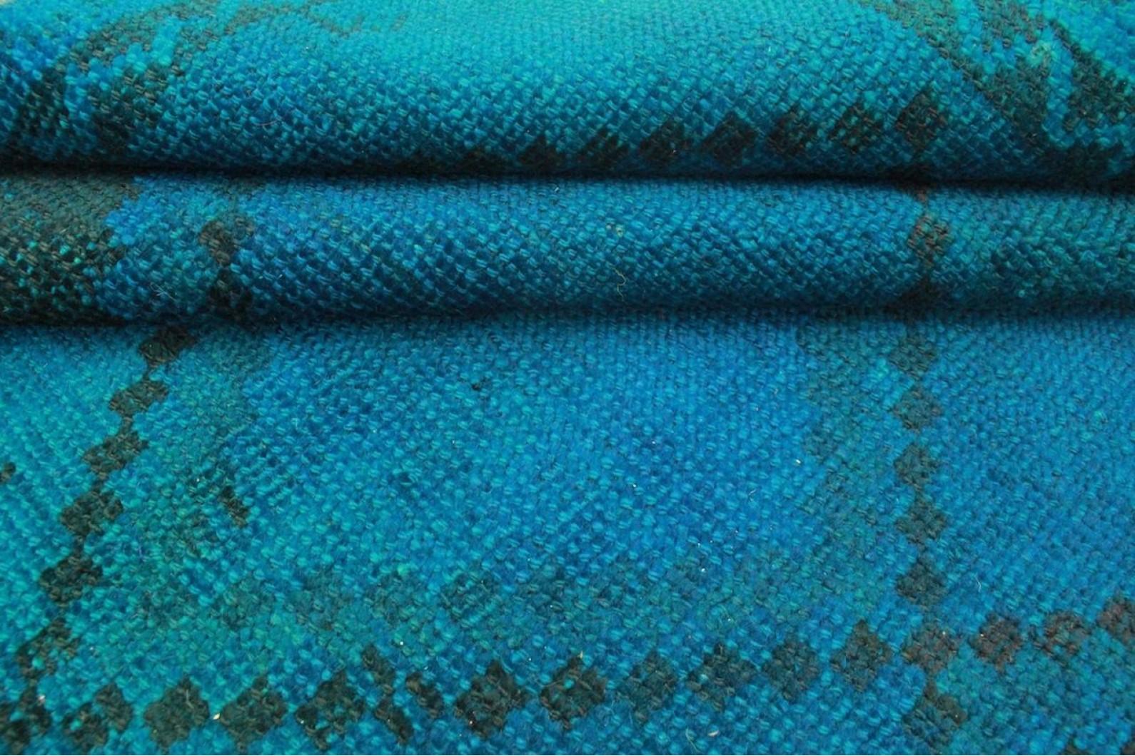 vintage teppich blau in 220x140cm 1001 3236 bei