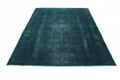 Vintage Teppich Türkis in 390x280cm