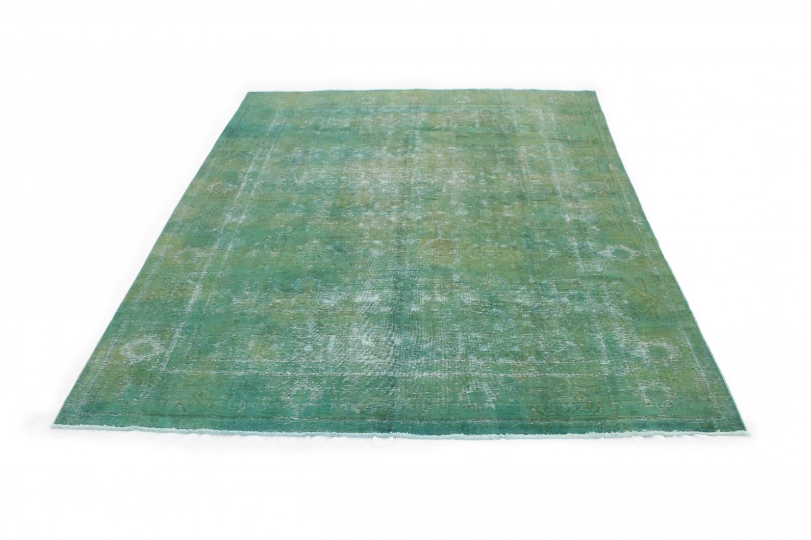 vintage teppich gr n in 380x290cm 1001 3261 bei kaufen. Black Bedroom Furniture Sets. Home Design Ideas