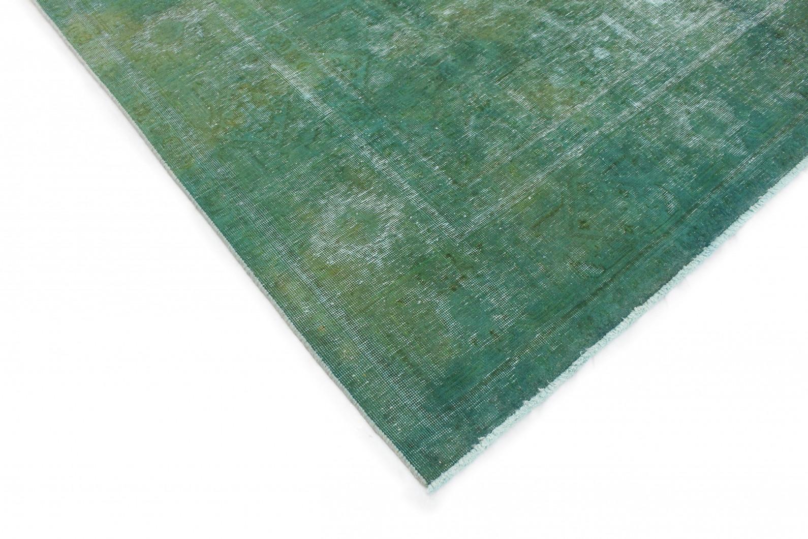 vintage teppich gr n in 380x290cm 1001 3261 bei. Black Bedroom Furniture Sets. Home Design Ideas