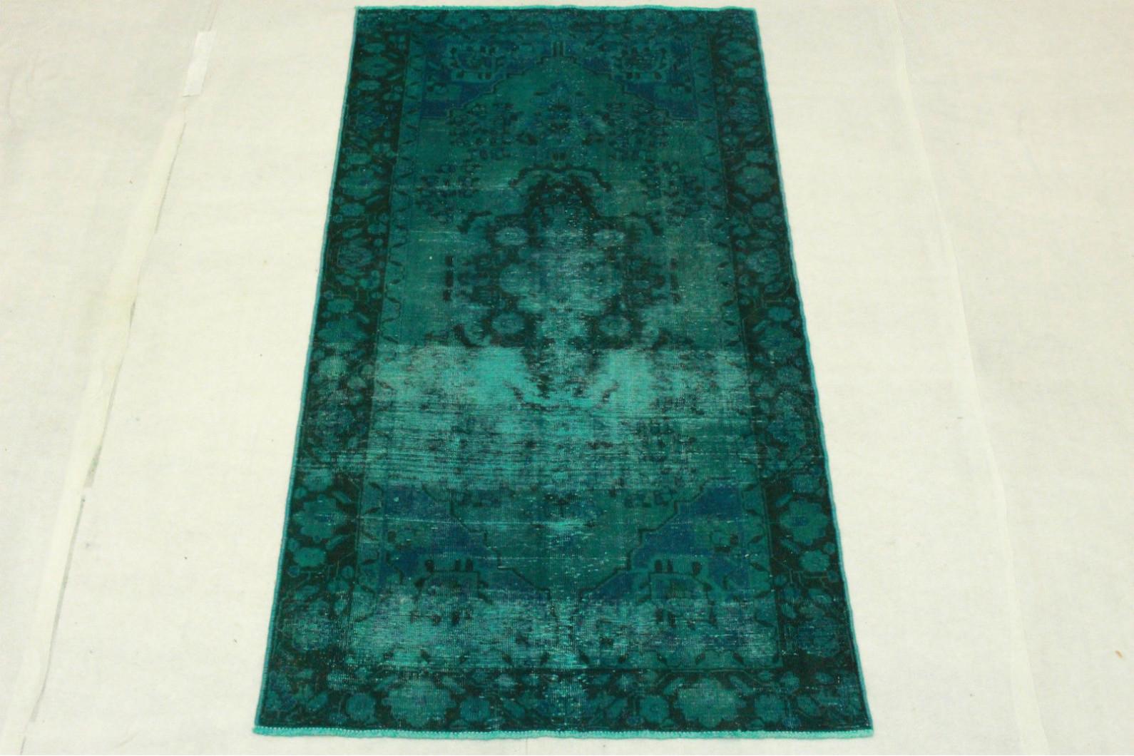 vintage teppich blau t rkis in 220x120cm 1001 3265 bei. Black Bedroom Furniture Sets. Home Design Ideas