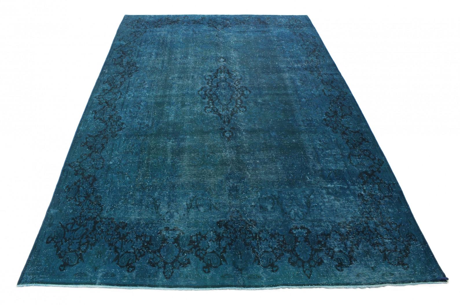 Vintage Teppich Türkis in 440x280cm